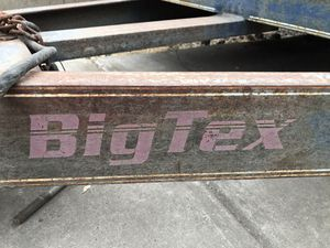 1999 BIG TEX. HEAVY. EQUIPMENT Trailer for Sale in El Cajon, CA