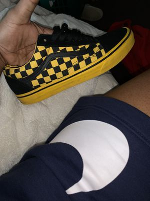 Black and yellow vans for Sale in Portland, OR