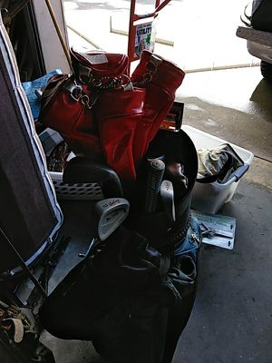 4-Golf bags & clubs for Sale in Alameda, CA