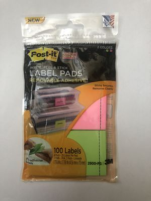 Multi Color Label Pads for Sale in Rockville, MD