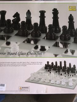 Chess Board Glass Chess Set for Sale in San Jose,  CA