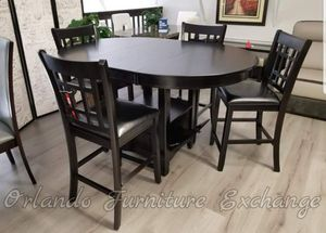 $479 WE DELIVER! BRAND NEW DINING SET WITH LEAF for Sale in Oviedo, FL