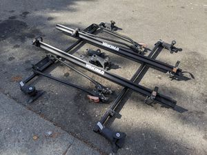 Yakima Roof Bike Rack - 2 bike w/ keys for Sale in Hayward, CA