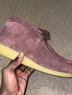 Clarks Wallabee Burgundy Suede Size 12 for Sale in Raleigh,  NC