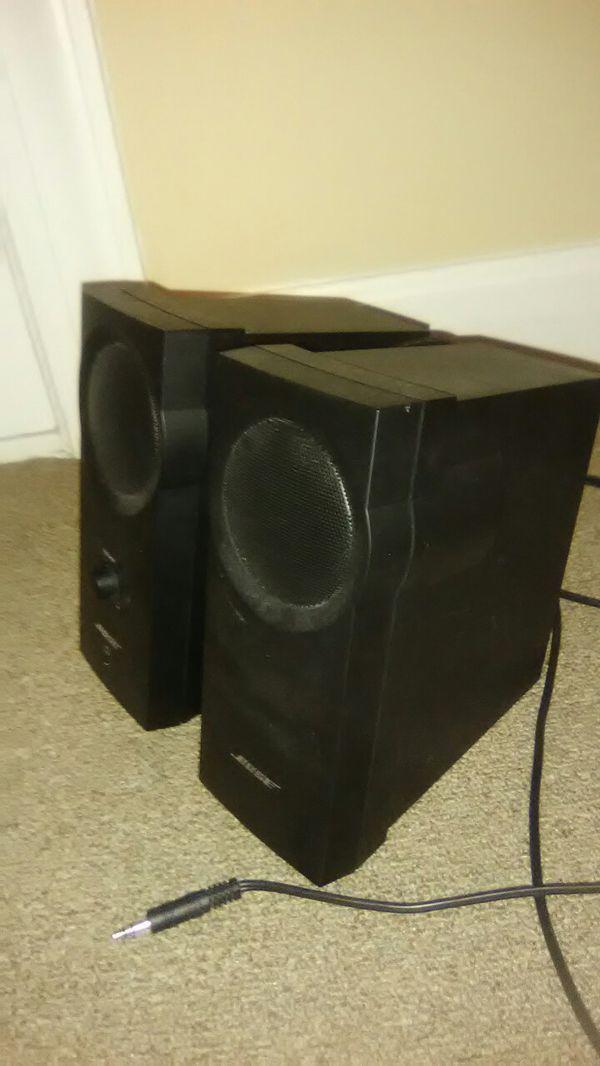 Bose 2 Companion Speakers