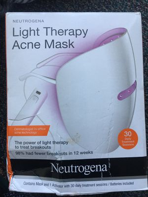 Neutrogena light therapy mask for Sale in Stockton, CA
