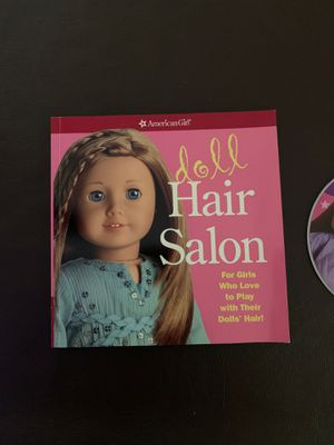 American Girl Hair Salon Book w/ Video for Sale in Miami, FL