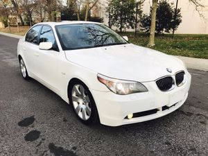 2007 BMW 530i - White on Black leather seats - Drives Excellent ! for Sale in Takoma Park, MD