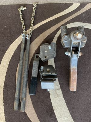Blue ox weight distribution hitch for Sale in Norman, OK