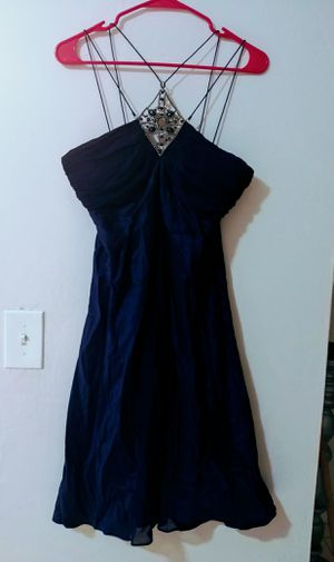 Navy Blue Cocktail Dress Size 6 for Sale in North Miami Beach, FL
