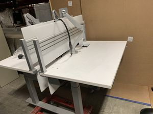 Double sit and stand desk for Sale in Atlanta, GA