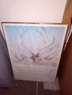 "Picture frame good condition.36"" by 25"" for Sale in Kent,  WA"