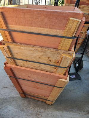 New 24 wooden planter box for Sale in Ontario, CA