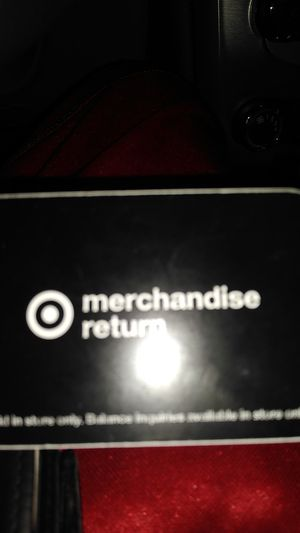 Target merchandise card for Sale in Buffalo, NY