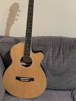 Epiphone PR-4E-NA Electric Acoustic Guitar + Original Soft Case for Sale in Fremont,  CA