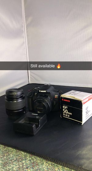 Canon T7 with 50mm for Sale in Norfolk, VA