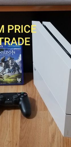 WHITE PS4 BUNDLE, FIRM PRICE, NO TRADE, GOOD CONDITION, READ DESCRIPTION FOR DETAILS for Sale in Fountain Valley,  CA