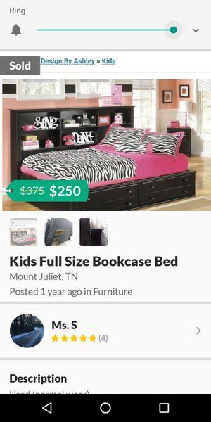 FULL SIZE BOOKCASE BED for Sale in Murfreesboro, TN