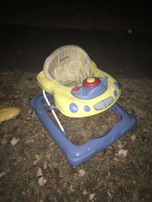 Baby walker only 25 Firm takes it now for Sale in Severn, MD