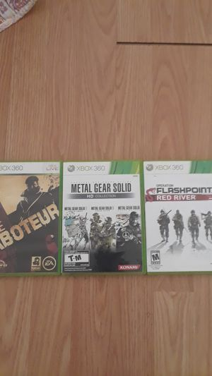 XBOX 360 Games for Sale in Millbrae, CA