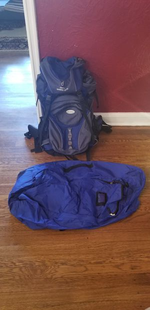Hiking Backpack with daypack and transport case for Sale in Beachwood, OH