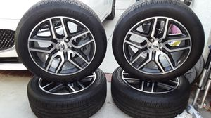 Set of new tires with rims. for Sale in Baldwin Park, CA