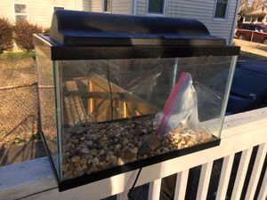 10 gallon aquarium, everything you need for Sale in Alexandria, VA