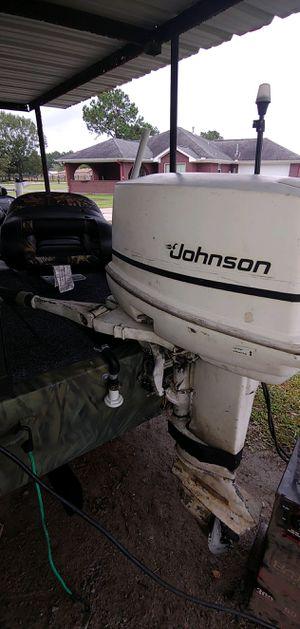 1983 johnson 25hp motor for Sale in Orange, TX