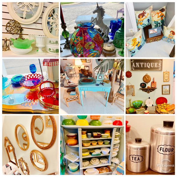Huge upcycled home decor 50% off MOVING SALE