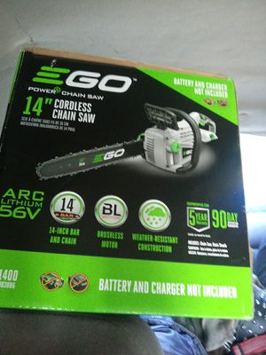 Brand new still in the box Ego chainsaw 270 new for Sale in Edgewood, WA