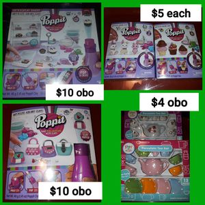 Clay Air Dough Modeling Clay Poppit Plays Sets and Refills. Tea Sets Porcelain for Sale in Strongsville, OH
