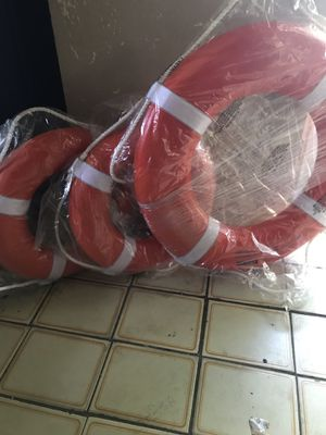 "Jim Bouy Orange Life Ring 20"" and 30"" Boat Parts for Sale in Fort Lauderdale, FL"