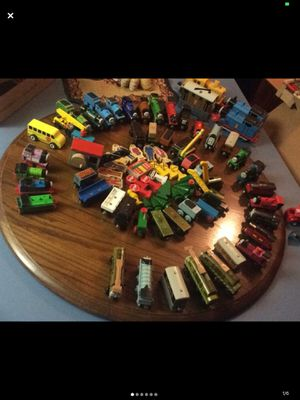 52 Thomas trains and tons of accessories along w 100s of tracks w bridges, tunnels, stations spent over 500 for Sale in Phoenix, AZ