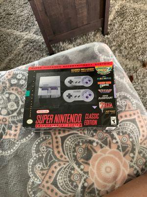 Super Nintendo mini console for Sale in Salida, CA