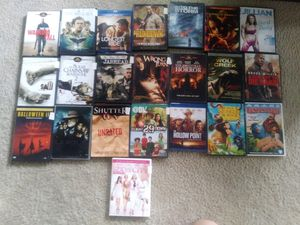 22 Various movies and JVC dvd player for Sale in Calverton, MD