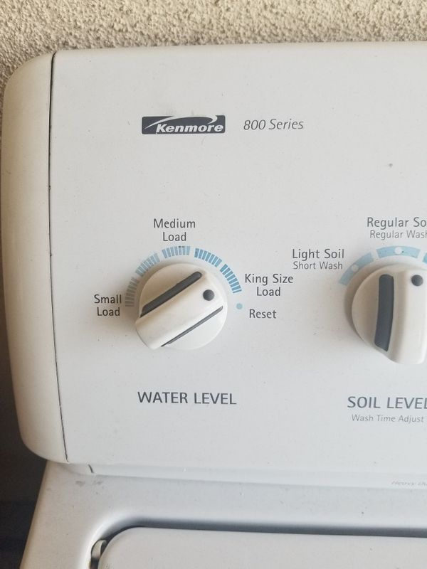 Kenmore Washer.