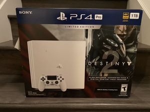 [NEW] Limited Edition PS4 Pro + Destiny 2 bundle for Sale in Redmond, WA