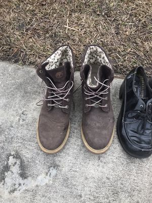 Timberland boots women's size 10 for Sale in Myrtle Beach, SC