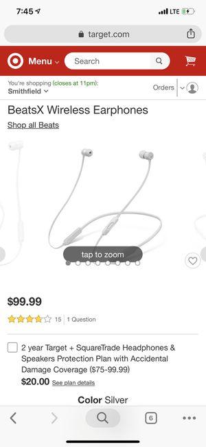 Beats X Wireless for Sale in Pawtucket, RI