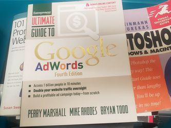 Web Sites Books:Google Adwords, for Sale in Tujunga,  CA
