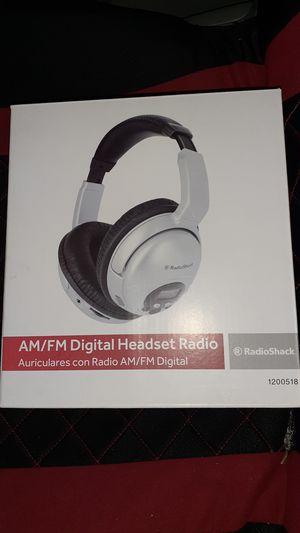 AM/FM Digital headset radio for Sale in San Diego, CA