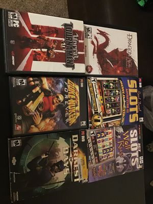 Nine pc games unsealed for Sale in Everett, WA
