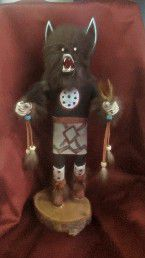 Used, Navajo Wolf- kachina doll for Sale for sale  Glendale, AZ