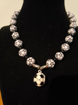Soccer Ball Charm Necklace for Sale in Puyallup, WA