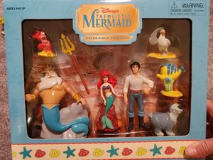 Disney The Little Mermaid Collectible Toy Set for Sale in Mission Viejo, CA