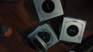 3 used nintendo game cubes silver for Sale in Columbus, OH