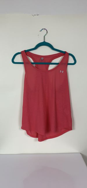 Hot pink under Armour tank top size m for Sale in Austin, TX