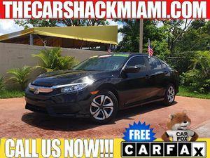 2016 Honda Civic Sedan for Sale in Hialeah, FL