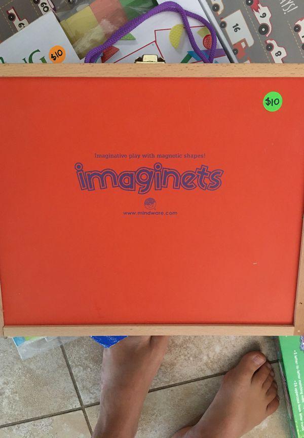 Imaginets magnetic shapes