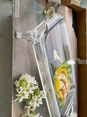 Silver pyrex tray for Sale in Brea, CA